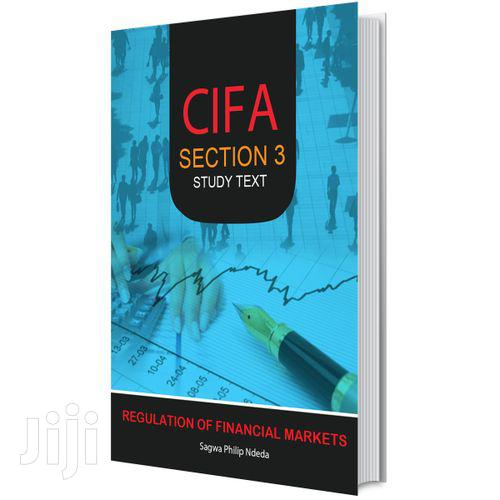 Cifa Section 3 Regulation Of Financial Markets