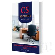 Cs Section 6 Governance Secretarial Audit Study Text | Books & Games for sale in Nairobi, Nairobi Central