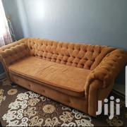 Gently Used Chester Field Sofa | Furniture for sale in Mombasa, Mkomani