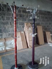 Brown Mahogany and Metallic Maroon 6ft Coat Hangers | Furniture for sale in Nairobi, Nairobi South