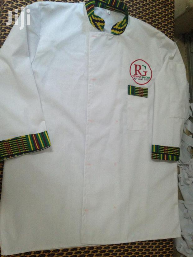 Hight Quality Chef Coats Plus Embroidery Logo Branding