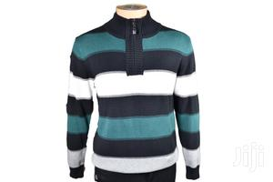 Striped Sweaters Men Pullovers