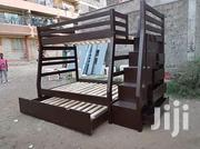 Tri Decker Beds With Staircases With Storage Space   Furniture for sale in Nairobi, Ziwani/Kariokor