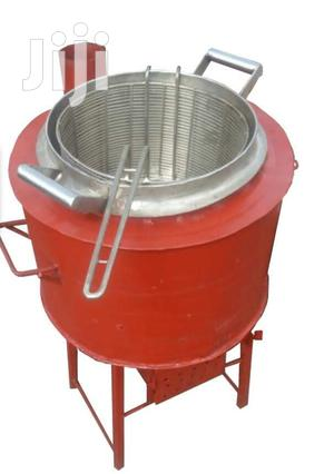 Charcoal Deep Fryer