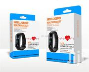 Intelligent Health Bracelet M3 + Heart Rate Social Media Black | Smart Watches & Trackers for sale in Nairobi, Nairobi Central