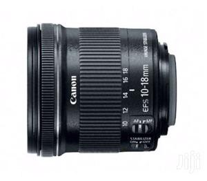 Canon Wide Angle EF S 10 18mm F/4.5 5.6 IS STM Lens