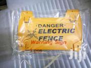 Electric Fence Hatari Sign/Danger | Safety Equipment for sale in Nairobi, Nairobi Central