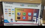 "Tornado 43"" Smart Android Led Tv 