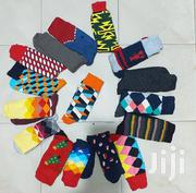 Men Brushed Cotton Casual/Official Happy Socks | Clothing Accessories for sale in Nairobi, Nairobi Central