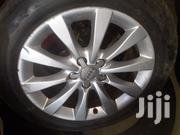 Audi A4 Original Alloy Rims With Tires Ksh 49K | Vehicle Parts & Accessories for sale in Nairobi, Karen