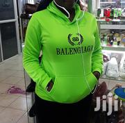 Balenciaga Unisex Green Cotton Hoodie | Clothing for sale in Nairobi, Nairobi Central