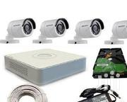 Hikvision 4 Channel CCTV Camera Kit 500 GB Hard | Security & Surveillance for sale in Nairobi, Nairobi Central