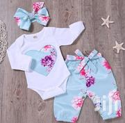 3 Piece Baby Girl Suit | Children's Clothing for sale in Mombasa, Bamburi