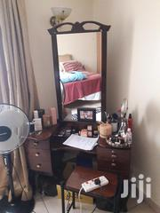 Wooden Dressing Table With Mahogany Wood Shelve | Furniture for sale in Nairobi, Westlands