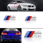 Bailunte Compatible 3pcs BMW M Power Badge Tri Color Rear Emblem | Vehicle Parts & Accessories for sale in Nairobi, Kileleshwa