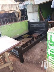 4x6 Bed Made of Mahogany Black in Colour   Furniture for sale in Nairobi, Embakasi