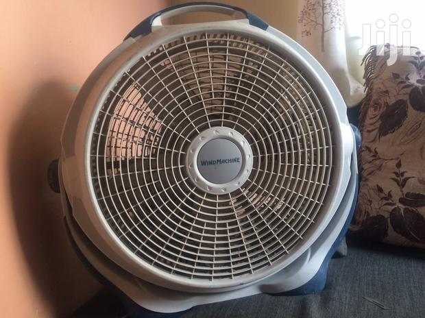Stage Fan For Cooling