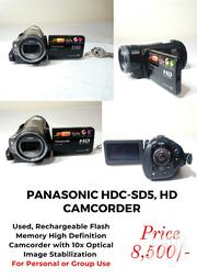 Panasonic HDC-SD5, HD Camcorder | Cameras, Video Cameras & Accessories for sale in Kiambu, Juja