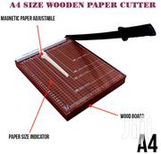 Wooden Base Paper Cutter A4 Size At 1200 Only | Stationery for sale in Nairobi, Nairobi Central