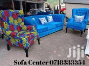 Stylish Modern Quality 3 Seater Chesterfield Sofa + 2 Wingback Chairs   Furniture for sale in Nairobi, Ngara