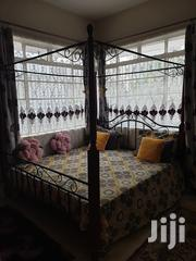 Metal and Wood Bed   Furniture for sale in Mombasa, Bamburi