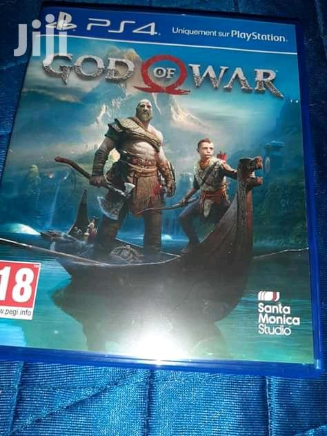 God Of War 4 Sony Ps4 Game Gow 4