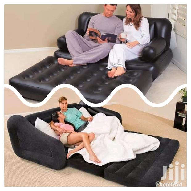 Inflatable Sofabed.