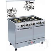 Nexus NX-8006ES 4 Gas +2 Electric Cooker - Silver | Kitchen Appliances for sale in Nairobi, Nairobi Central