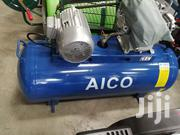 Brand New Imported 200l Belt Driven AICO Compressor Single Phase. | Manufacturing Equipment for sale in Kajiado, Ongata Rongai