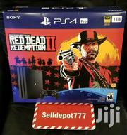 Sony Playstation 4 Pro 1TB Red Dead Redemption 2 Bundle Brand New   Video Game Consoles for sale in Nairobi, Westlands