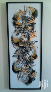 Abstract Oil Painting With Black Frame (45 X 120 X 4 Cm) | Arts & Crafts for sale in Mombasa, Bamburi