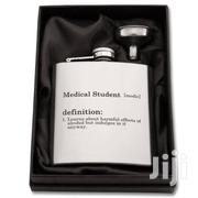 MEDICAL STUDENT FUNNY Hipflask, Medical Gift, Med School Drinkware | Home Accessories for sale in Nairobi, Mountain View