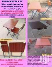 Foldable Study Table And Chair | Furniture for sale in Homa Bay, Mfangano Island