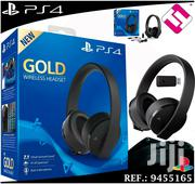 Ps4 Headset Gold   Video Game Consoles for sale in Nairobi, Nairobi Central