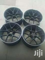 Black Benz Rims Size 18 Staggered | Vehicle Parts & Accessories for sale in Nairobi, Mugumo-Ini (Langata)
