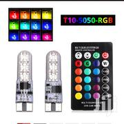 Remote Controlled T10 Led RGB Multicolor Bulbs | Vehicle Parts & Accessories for sale in Nairobi, Nairobi South
