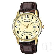 CASIO MEN'S GOLD LEATHER WATCH | Watches for sale in Nairobi, Nairobi Central
