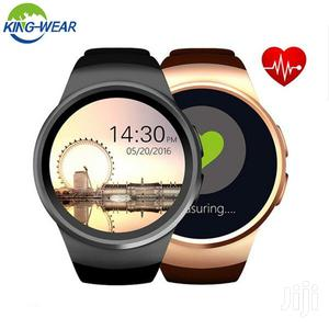 Kingwear KW18 Smartwatch Phone With Heart Rate Monitor