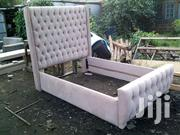 Stylish Quality Tufted 5by6 Bed | Furniture for sale in Nairobi, Ngara
