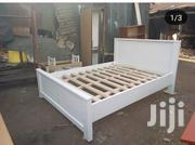 Queen Bed White | Furniture for sale in Nairobi, Ngando
