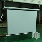 """Electric Motorised Projector Screen 120"""" X 120"""" 