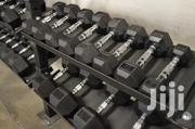 Rubber Dumbbells | Sports Equipment for sale in Nairobi, Ngara