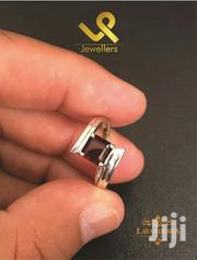 Custom Made Ladies Gold Engagement Ring With Red Garnet | Jewelry for sale in Nairobi, Nairobi Central