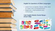 English For Speakers Of Other Language | Classes & Courses for sale in Nairobi, Karen