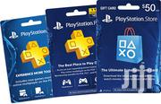Playstation Plus Gift Cards And Subscription Also Xbox Live | Video Game Consoles for sale in Nairobi, Nairobi Central