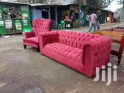 Deeep Buttoned Chesterfield And Wingback Made On Order | Furniture for sale in Nairobi, Ngara