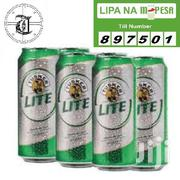 Beer, Lager, Tusker Lite, In 6-pack Of Cans Of 500ml | Meals & Drinks for sale in Nairobi, Karen