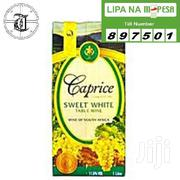 Wine, Caprice, Sweet White In Pack Of 1 Litre | Meals & Drinks for sale in Nairobi, Karen
