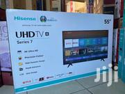 Hisense 4K Ultra HD Smart TV 55 Inch | TV & DVD Equipment for sale in Nairobi, Nairobi Central