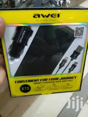 Awei Car Adapter,10000mah Power Bank and Charging Cables. | Accessories for Mobile Phones & Tablets for sale in Nairobi, Nairobi Central